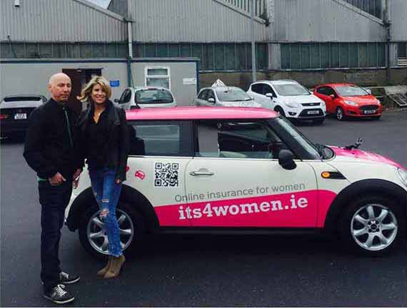 Celebrity driving instructor Noel Gaughan drives us round the bend!