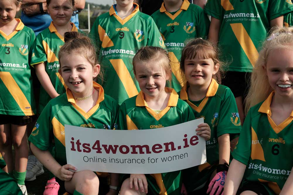 Under 8's Girls Gaelic Football Team