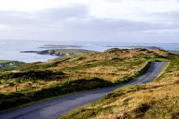 Connemara's Sky Road and Omey Island