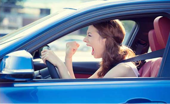 Are you one of the Young Irish Women Who Suffer from Road Rage?