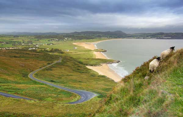 Go far out on the Fanad Peninsula