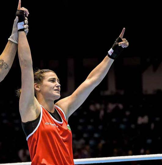 Katie Taylor has struck gold - yet again!